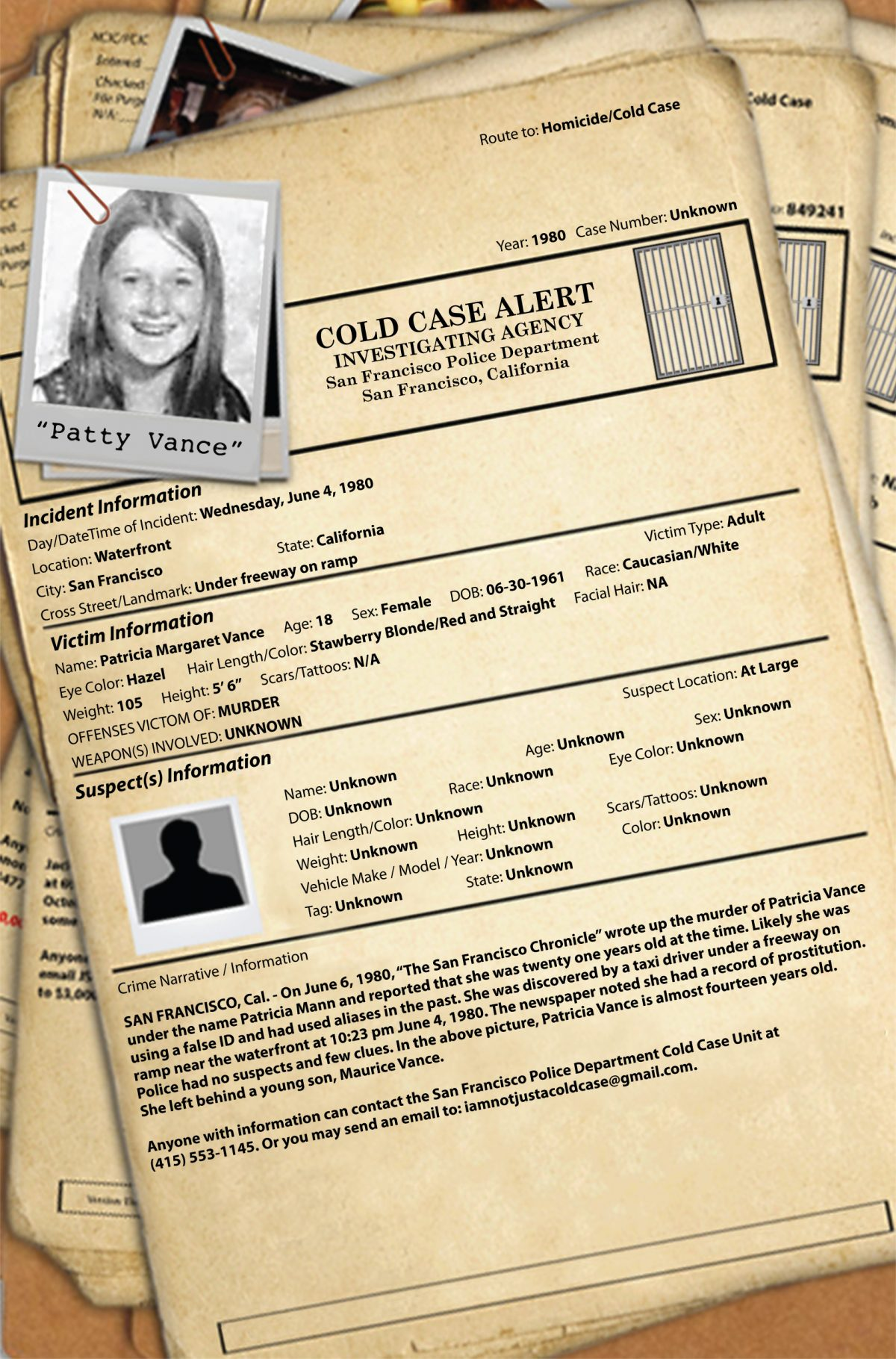 The Cold Case Diary